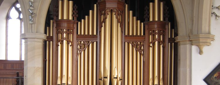 Our church organ